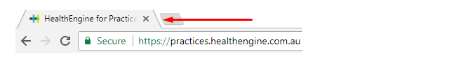 Screenshot of HealthEngine for Practices SEO title