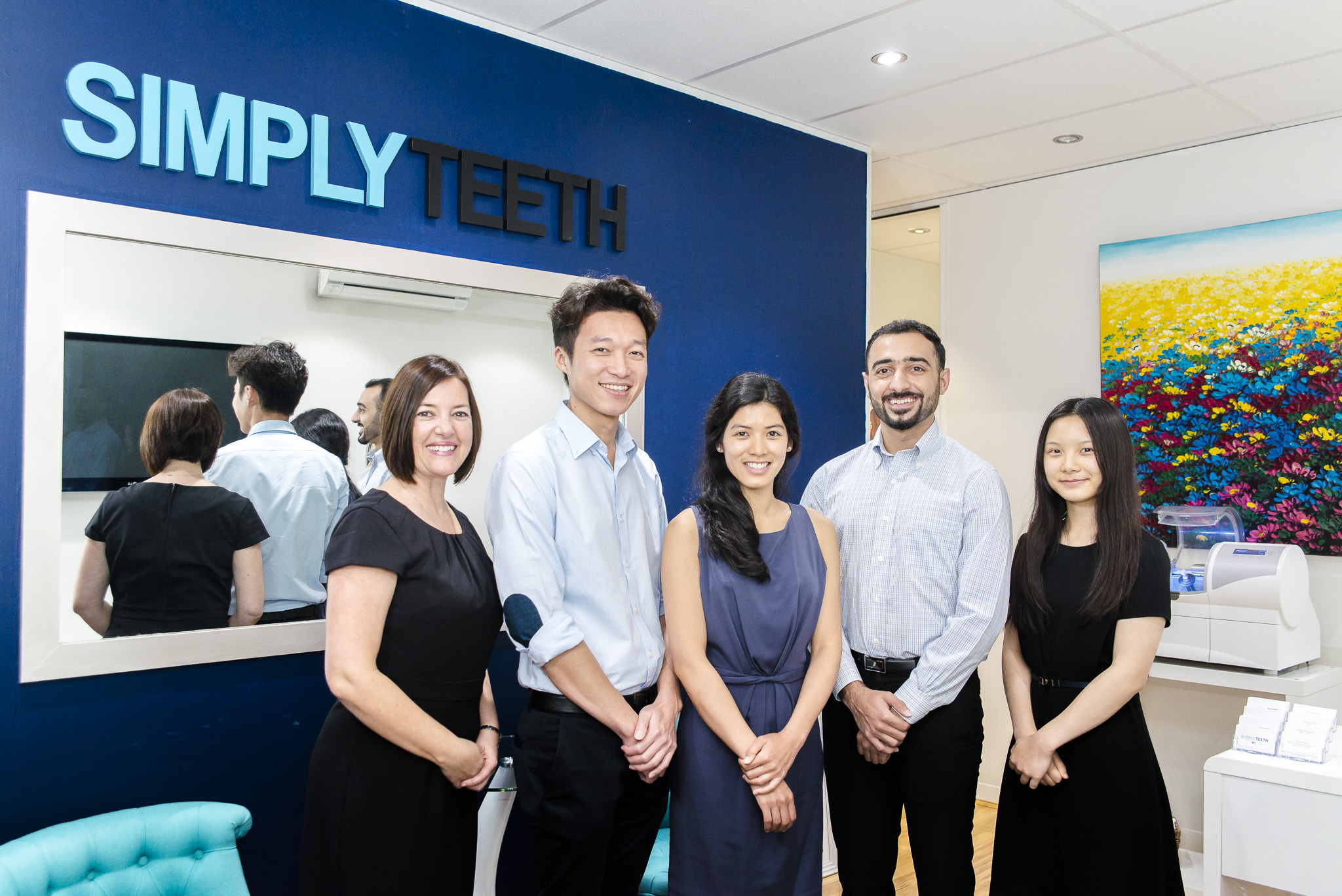 Staff at Simply Teeth