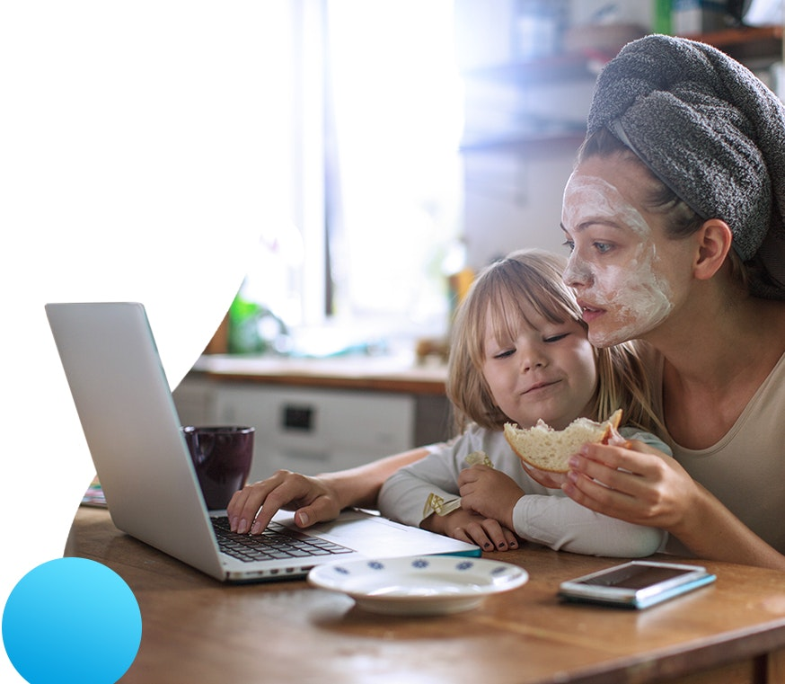 Mother booking online