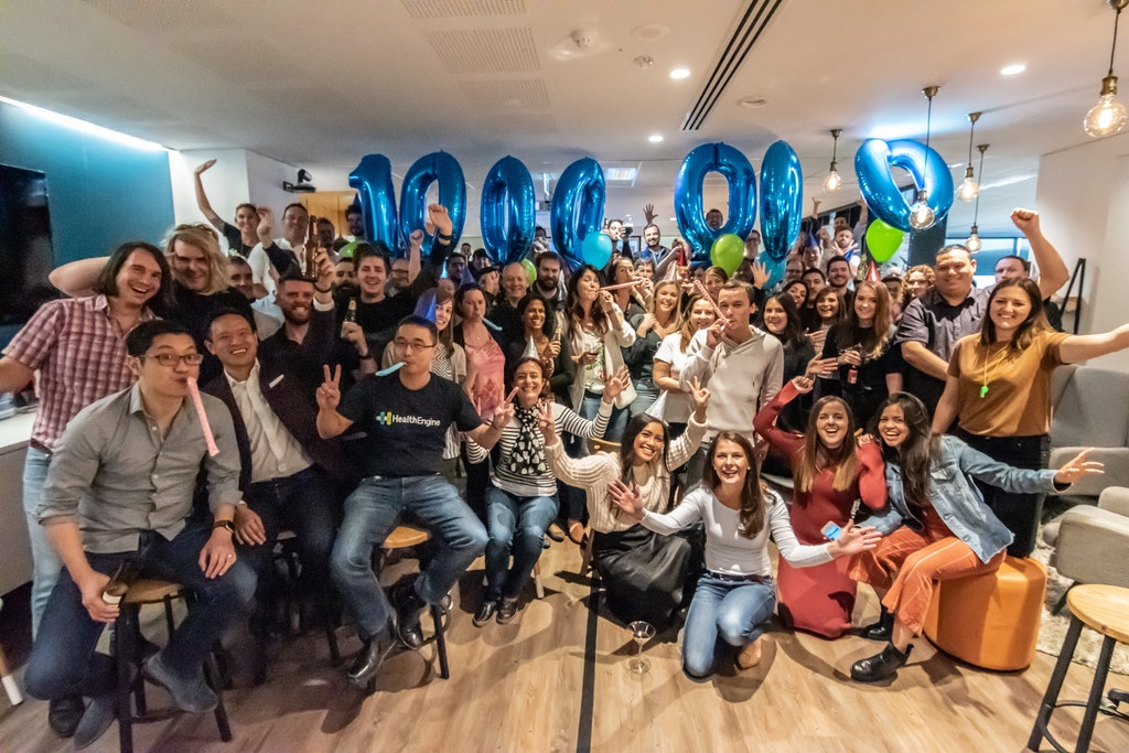 Our Perth staff celebrate the milestone